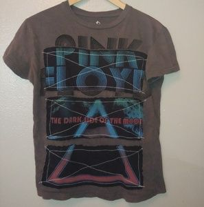 Unique Pink Floyd Band Tee Dark Side of the Moon S